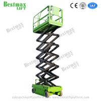 10m Working Height Hydraulic Self Propelled Scissor Lift with Extension Platform Manufactures