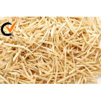 Natural Dehydrated Vegetables Dried Burdock Strips 4 * 4 * 80mm HACCP Manufactures