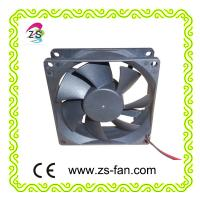 12v server fan 80*80*25 sleeve bearing fan made in china