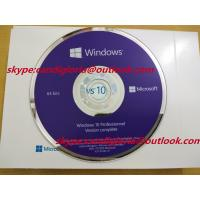 China Global language windows 10 Pro oem /Retail / Online Coa Sticker/ BOX/Key on sale