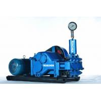 5.5 Kw 3 Mpa Horizontal Three Cylinder Drilling Mud Pump for Mineral Coring Manufactures