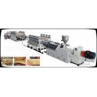 Quality 280 kw PE PP Plastic Plate Extrusion Line With Auto feeder / Three roller calender for sale