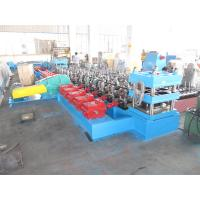 Freeway Guardrail Galvanized Steel Plate Cold Forming Machine for Road Safety Barrier Use PLC Automatic Control Manufactures