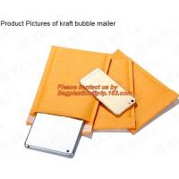 Kraft Paper Bubble Mailers Self Seal Padded Envelopes Courier Bags, Bubble Padded Envelopes Mailers Bag, bagease, pac Manufactures