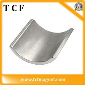 permanent segment neodymium magnet with SGS cetificate Manufactures