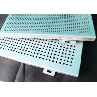 Roof Aluminum Wall Panels / Perforated Acoustic Metal Ceiling Tiles Sheet Manufactures