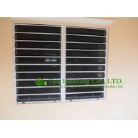 Aluminum Safe Glass Louvered windows with tinted glass, hurricane-proof Louvered windows Manufactures