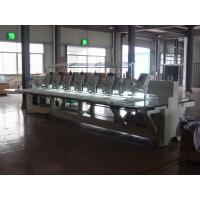 High Speed 9 Needles 6 Head Embroidery Machine For Wedding Dress Manufactures