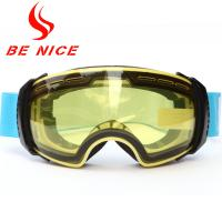 Anti Fog Detachable Ski Snowboard Goggles , Tinted Ski Goggles For Sports Manufactures