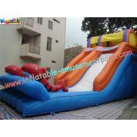 Kids Outdoor Inflatable Water Slides Games with PVC tarpaulin, Reinforced seams for Rental Manufactures