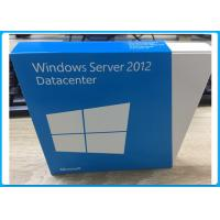 2 CPU English Version Windows Server 2012 Retail Box Datacenter 5 User DVD Manufactures