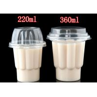 220 ml 360 ml PP plastic disposable cup for ice cream