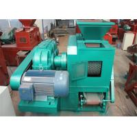 Roller Press Biomass Charcoal Briquetting Machine 1.45T Gross Weight Manufactures