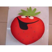 vegetable style cushion,beads cushion,polythene ball filling cushion,funny play