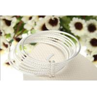Charming fashionable silver bracelet jewelry Manufactures