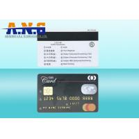 HiCo Black 3 Track Magstripe IC Contact Magnetic PVC Card SLE4428 SLE5528 Manufactures