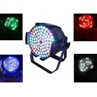 CE RoHS 90 PCS Dj Stage Lighting , 270 W Led Stage Lighting Equipment 4 / 8 CH Manufactures