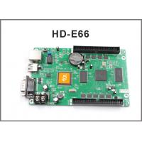 HD-E66 display control system HD-E53 P10 display programmable LAN + USB + RS232 control card for led display screen Manufactures