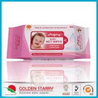 Newborns Unscented Alcohol Free Baby Wipes Chemical Free Non Woven for sale