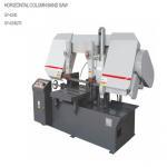 Steel Sheet Frame Horizontal Bandsaw Machine / Dual Column Band Saw Manufactures