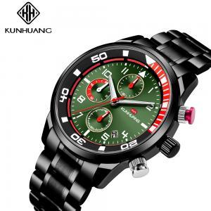 China Man Luminous 3 ATM Analog SS Fashion Quartz Watch on sale