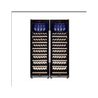 China Direct Cooling 105W 188L Commercial Wine Display Cooler on sale