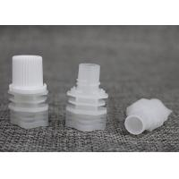 8.6mm Food Grade Suction Nozzle Screw Cap With Spout For Drinking Bag Manufactures