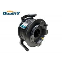 Flexible Plastic Armored Cable Reel To Protect Optical Fiber Cable Drum Manufactures