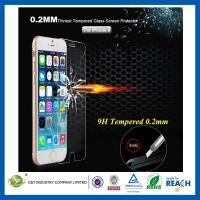 Ballistic Nano 0.2mm Tempered Glass Smartphone Screen Protector Ultra Slim For Iphone 6 Manufactures