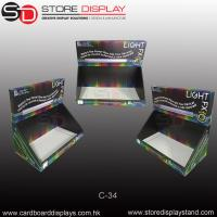 PDQ tabletop display box for Led tube display Manufactures