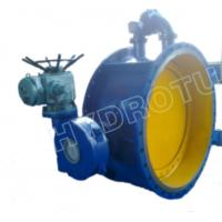 Dia. 50 - 3000 mm Electric / Manual Flanged Butterfly Valve For Hydropower Equipment Manufactures