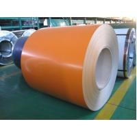 Orange Prepainted Steel Coil 0.14mm - 1.2mm Thickness / Galvanized Steel Sheets Manufactures