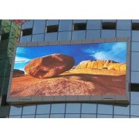 Quality Cree Chip 10mm IP65 Waterproof Led Display , Ultra Thin DIP Led Wall Screen for sale