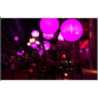 China Crystal Colorful Led Celling Light Balloon Inflatable For Commercial Event on sale