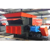 Single Shaft Plastic Shredding Machines For Chair , Pipe Low Speed Manufactures