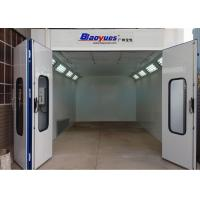 China 6.9M Standard Paint Booth , Car Spray Paint Booth Diesel Burner Heating on sale