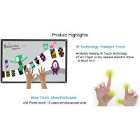 best cost active board AL frame infrared whiteboard for school teaching Manufactures