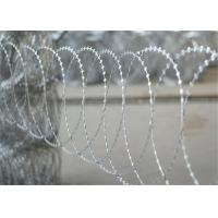 Hot Dip Galvanized BTO 10 Flat Razor Wire Stainless Steel On Protect Private Grounds Manufactures