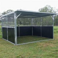 Quality 3.6x2.2m Horse stable Stall Fronts with swing doors or sliding door for sale