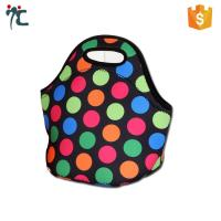 Buy cheap wholesale polyester neoprene insulated waterproof bento fitness lunch picnic tote bag from wholesalers