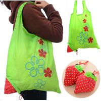 Buy cheap Ecological Drawstring Tote Bags Cute Strawberry Portable For Super Market from wholesalers