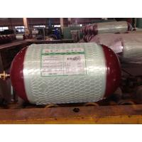 High Pressure CNG Gas Tank 20Mpa , Glass Fiber Gas Cylinder Bottled Natural Gas OD 340MM Manufactures