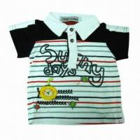 Buy cheap Baby T-shirt, made of cotton, OEM brands are welcome from wholesalers
