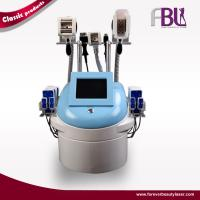 China Vacuum Roller Ultrasonic Cavitation Slimming Machine Sixpolar RF Body Contouring on sale