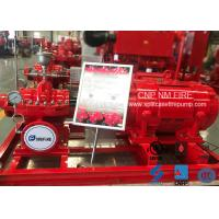 3000GPM 125PSI Single Stage Double Suction Centrifugal Pump For Firefighting Manufactures
