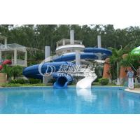 China Large Outdoor Commercial Grade Fiberglass Water Slides Swimming Pool for Kids and Adults wholesale