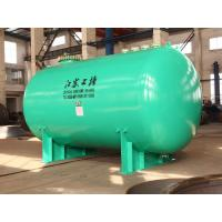 Horizontal glass lined Chemical storage tank 30000L wih corrosion resistance materials Manufactures