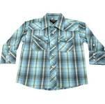 High quality Plain fabric Woven Classic colorful Printed kids Plaid Flannel Shirts