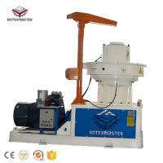 Factory direct sale 1-1.5t/h capacity biomass wood pellet machine Manufactures