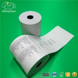 Waterproof Thermal Printer Paper Roll Adhesive Label Material 100% Wood Pulp Manufactures